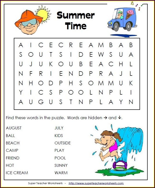Super Teacher Worksheets Sight Word Bingo