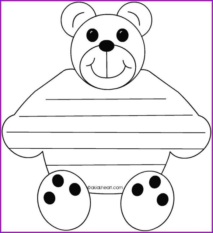 Teddy Bear Timeline Worksheet