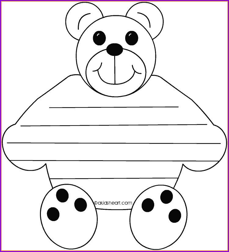 Teddy Bear Timeline Worksheet