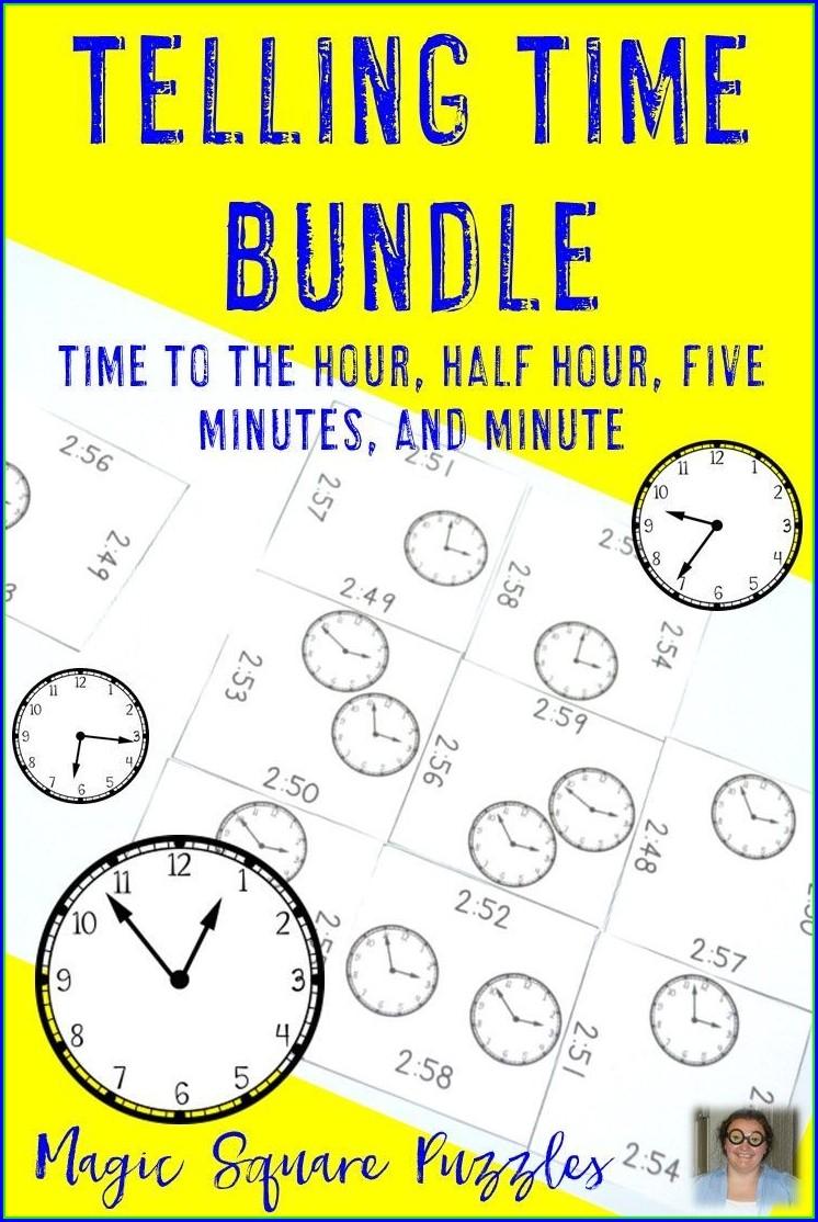 Telling Time Worksheet Fun