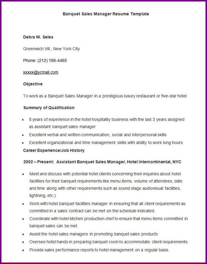 Template Microsoft Word Free Resume Samples