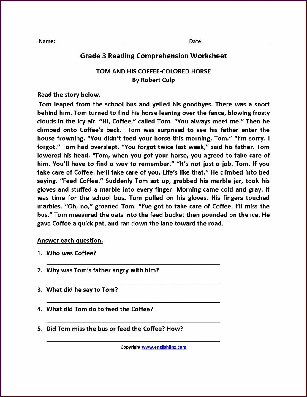 Third Grade Spelling Worksheets Pdf