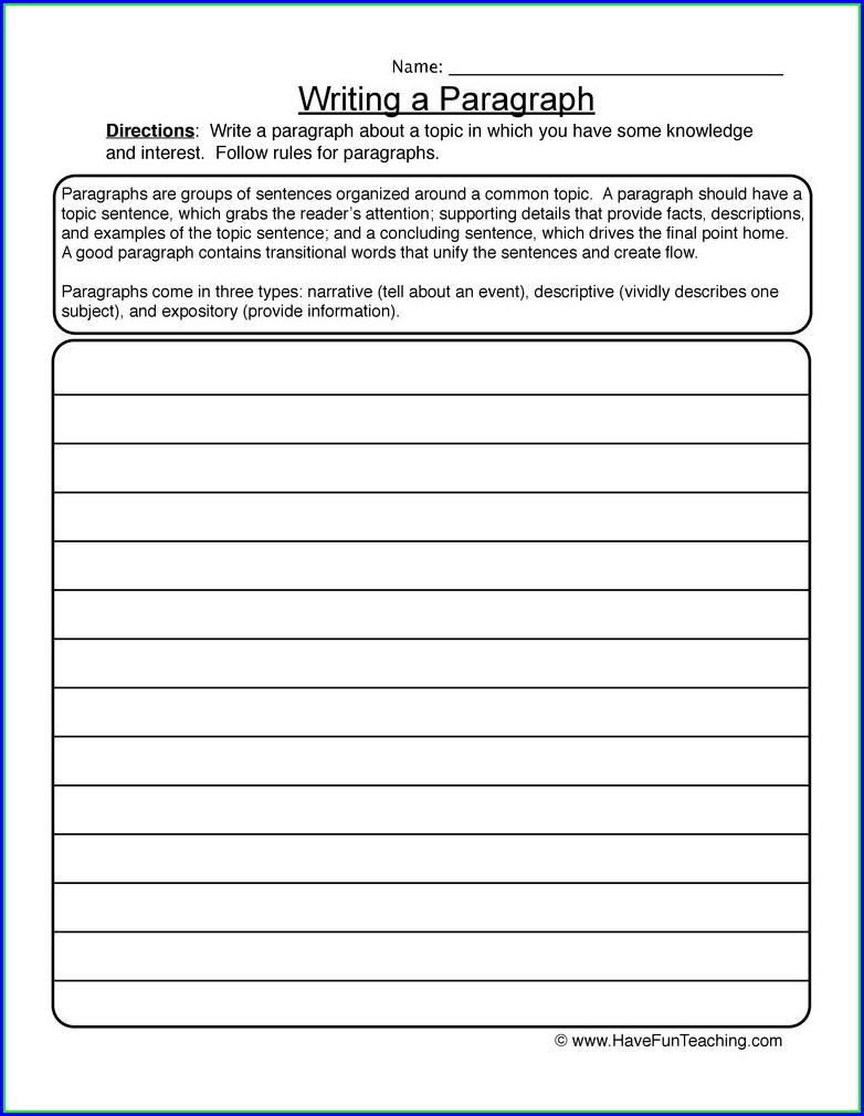 Transitional Words Worksheets 5th Grade