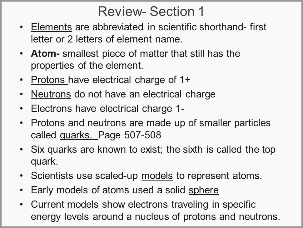 Understanding The Periodic Table Of Elements Worksheet Answers