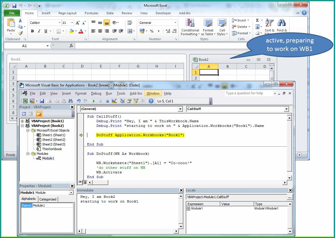 Vba Current Workbook Activate