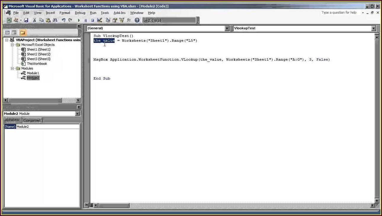 Vba Function Return Worksheet