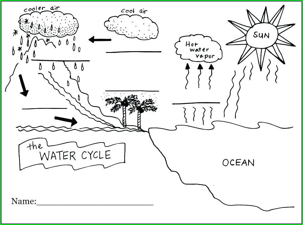 7th Grade Water Cycle Worksheet Answer Key Worksheet