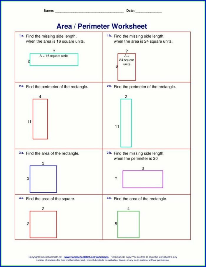 Whole Number Exponents Worksheets