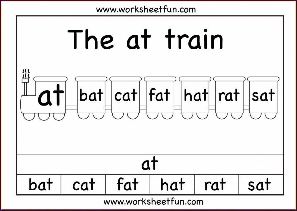 Word Family Worksheet At
