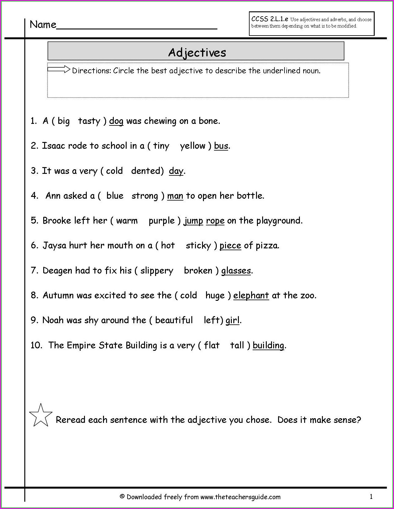 Worksheet 1st Grade Worksheet Subject Verb Agreement