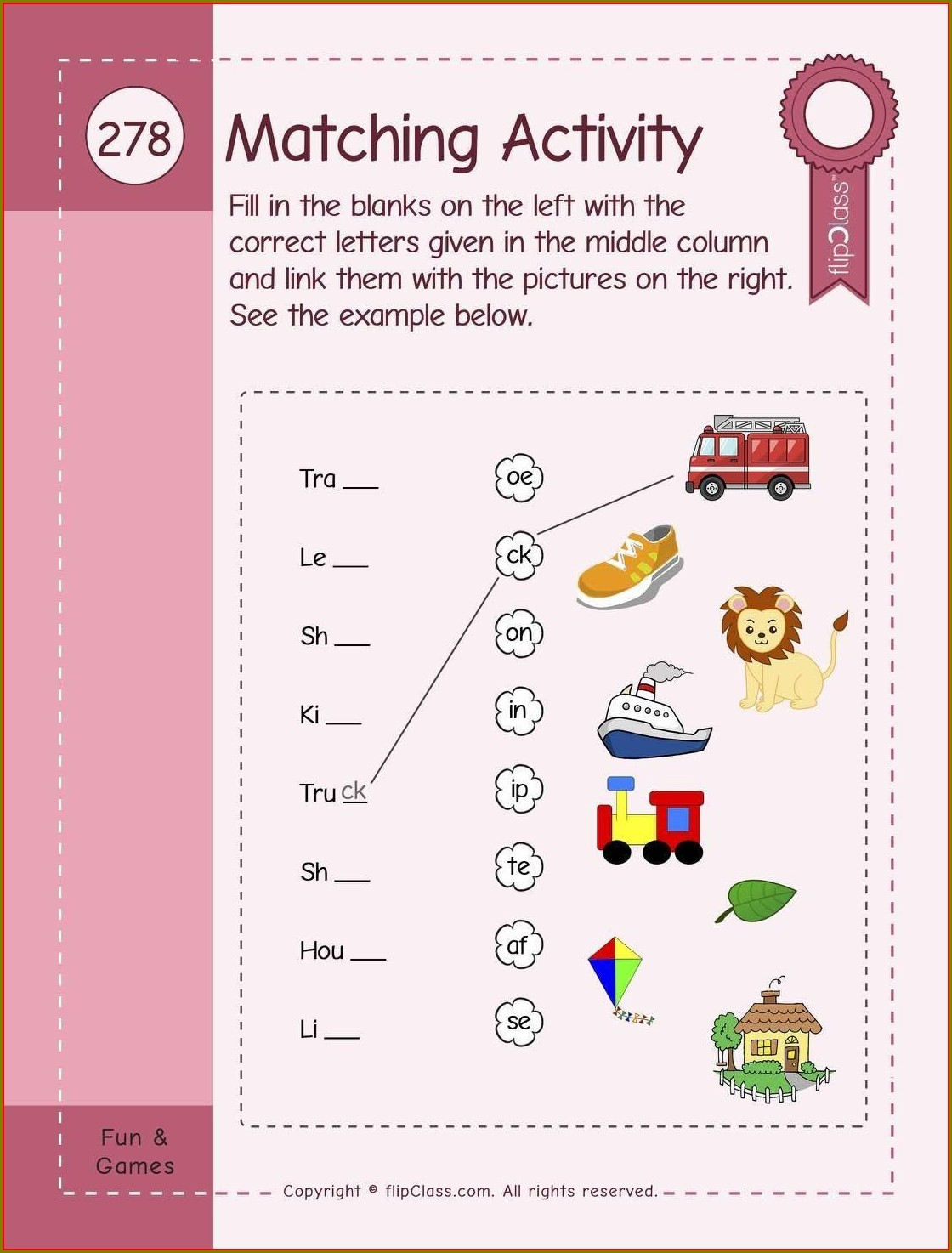 Worksheet English For Kg1