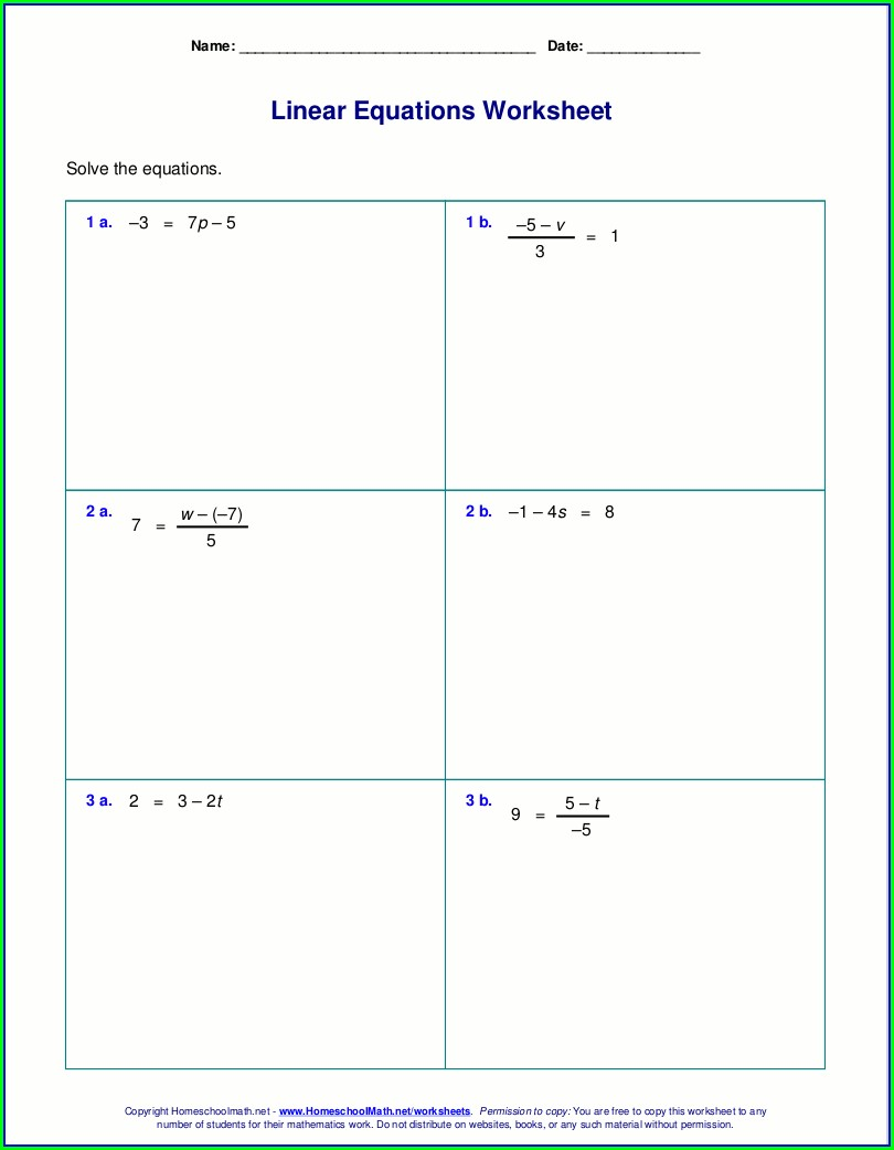 Worksheet Generator Algebra 2