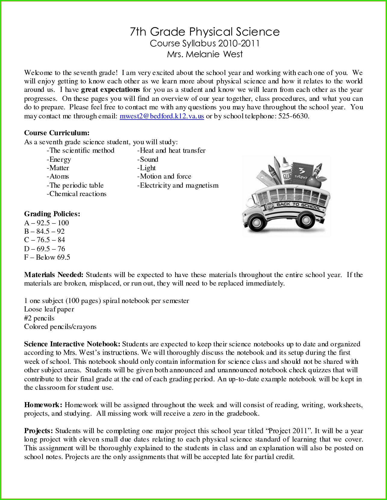 Worksheet In English Grade 7