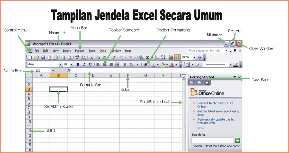 Worksheet Menu Bar Missing In Excel 2000