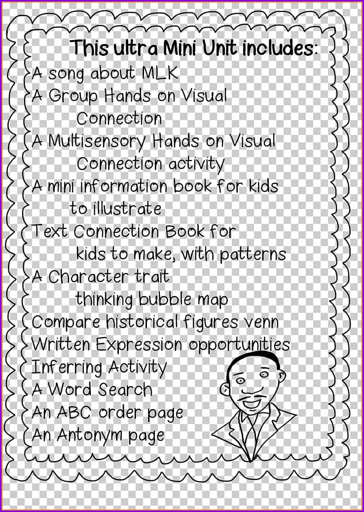 Worksheet On Black History Month