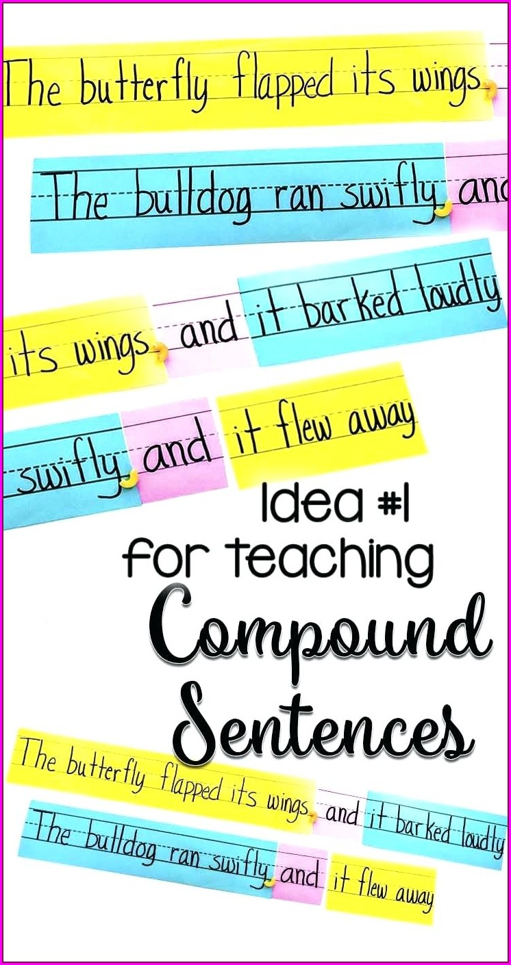 Worksheet With Simple Compound And Complex Sentences