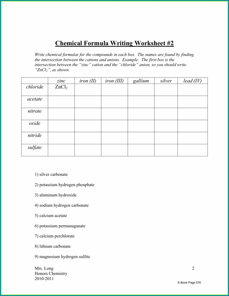 Worksheet Writing Ternary Formulas Key