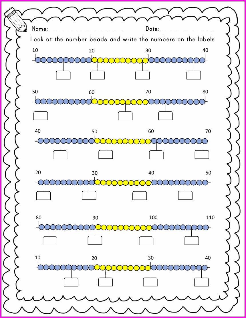 Writing Numbers To 20 Worksheet Tes