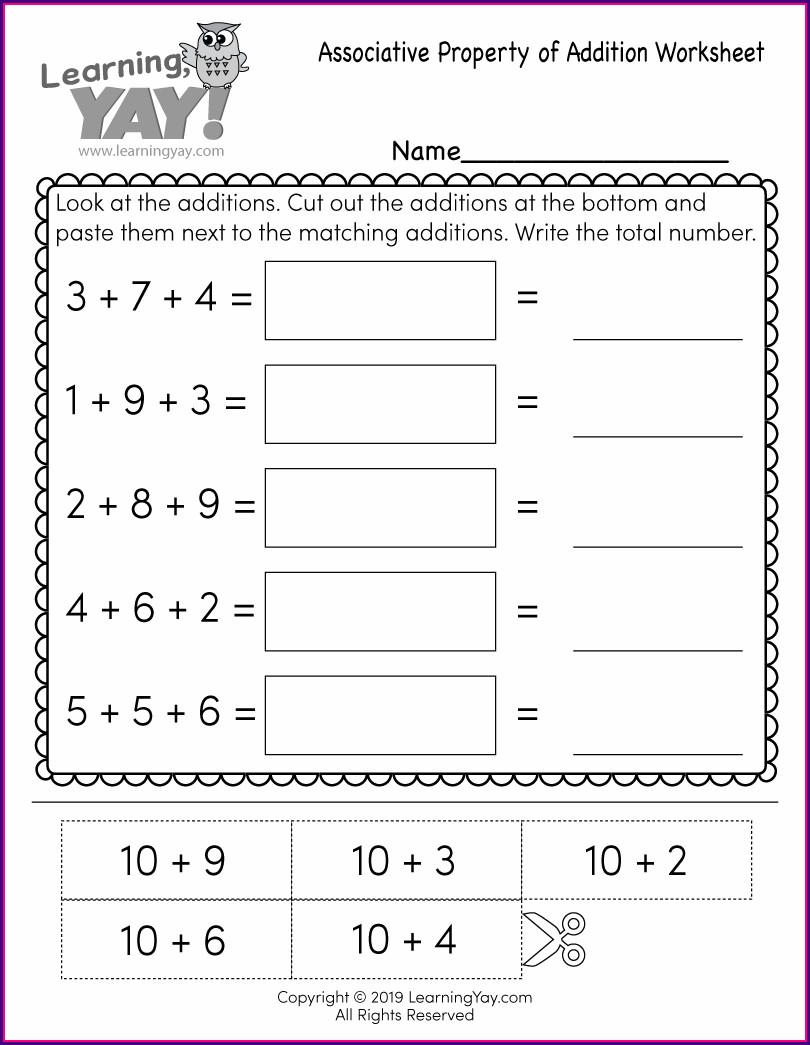 1st Grade Worksheet Free