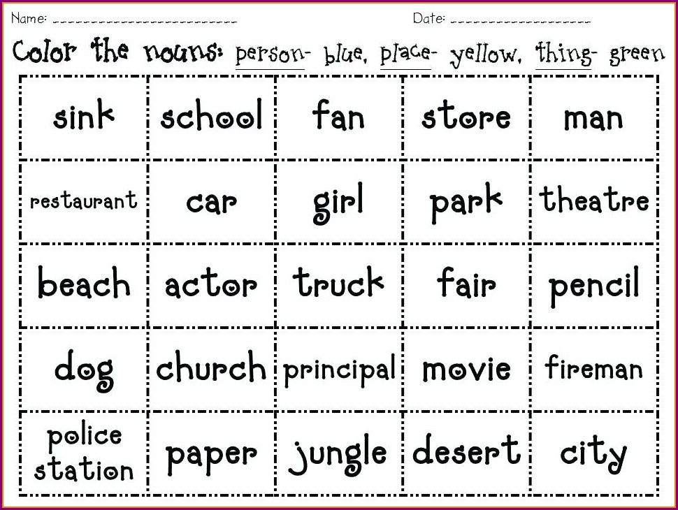 2nd Grade Possessive Pronouns Worksheets