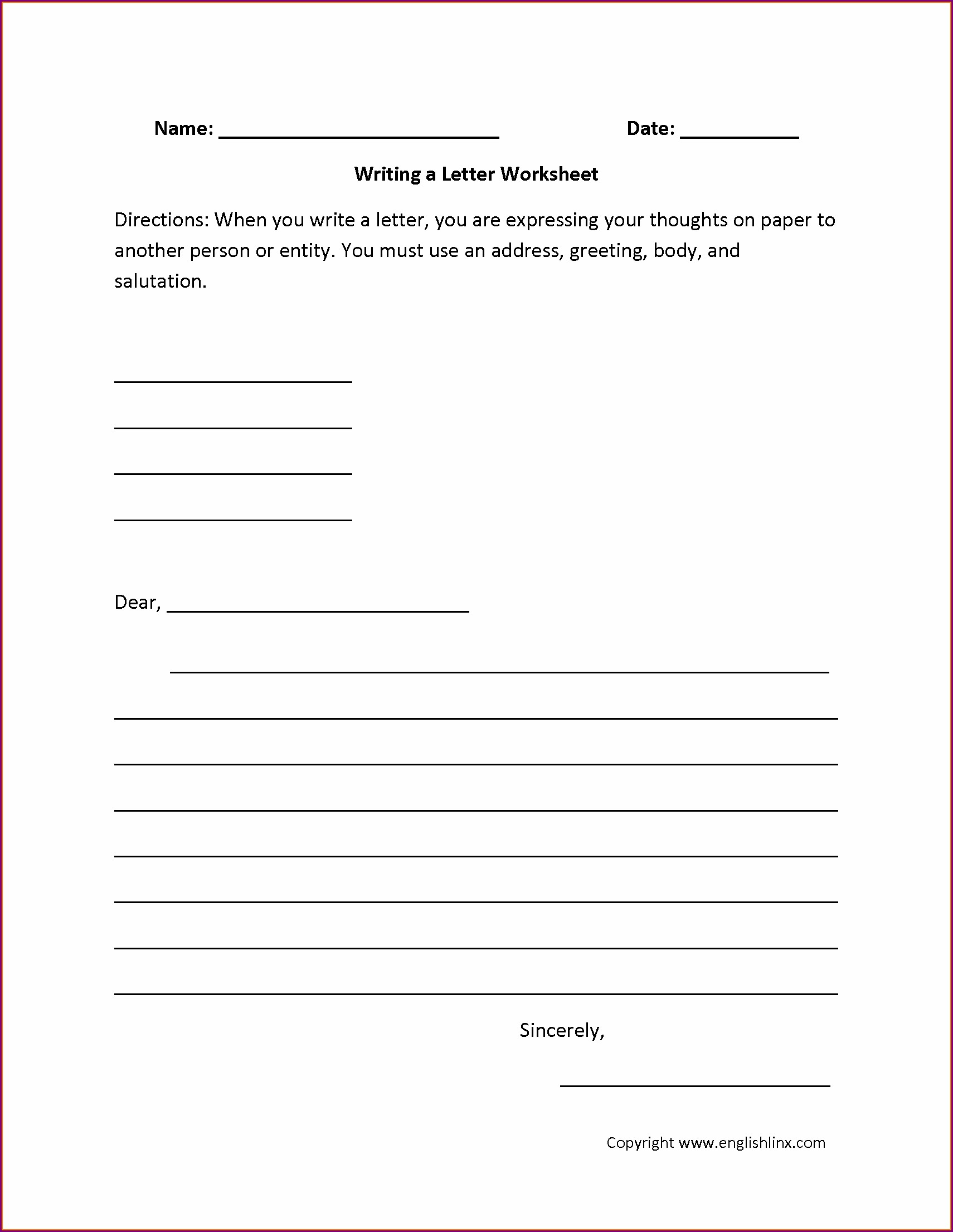 2nd Grade Summary Writing Worksheets Pdf