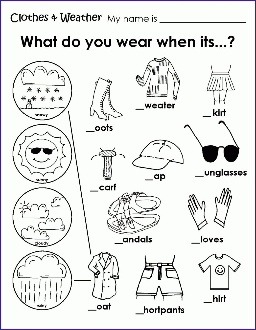 2nd Grade Worksheets Canada