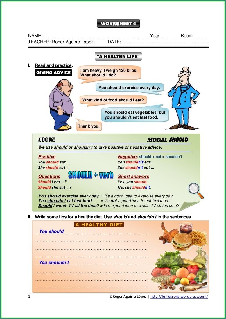 3rd Grade Health Worksheets Pdf