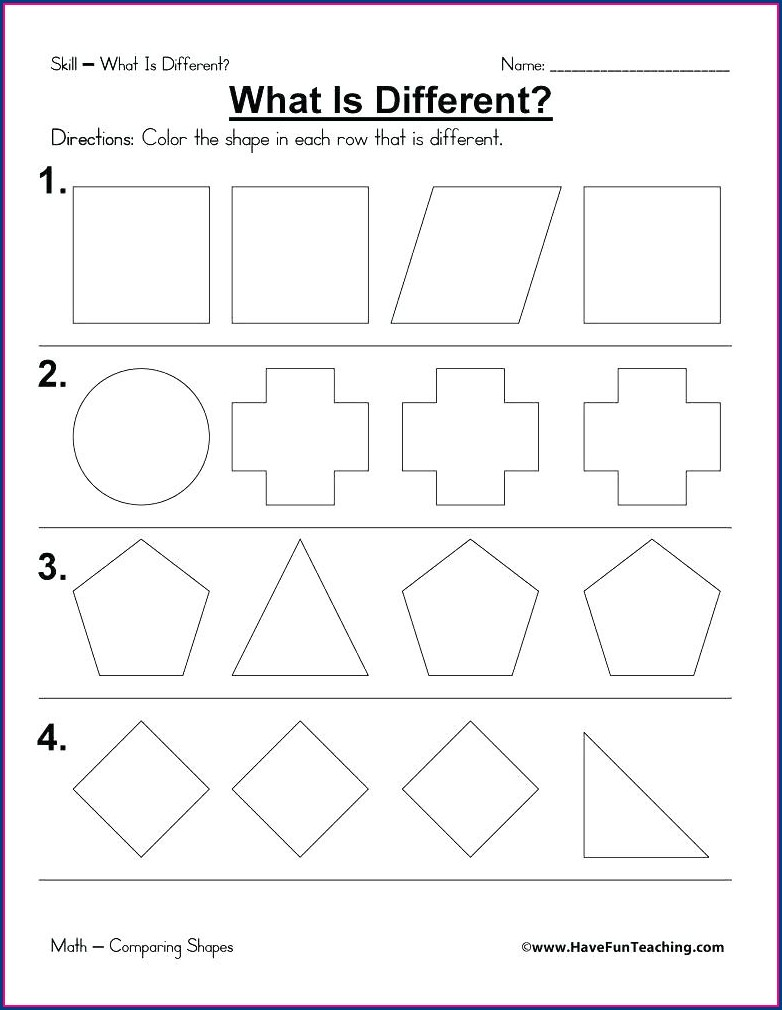 3rd Grade Polygon Worksheets