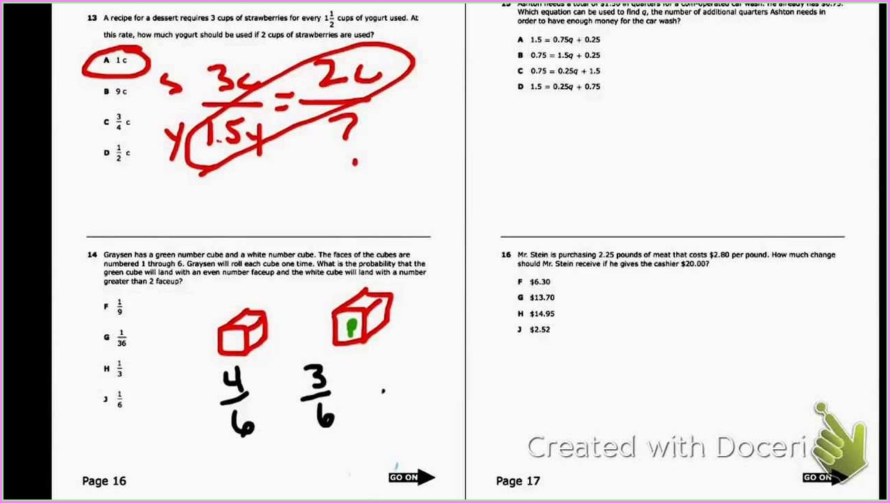 3rd Grade Staar Test Practice Worksheets