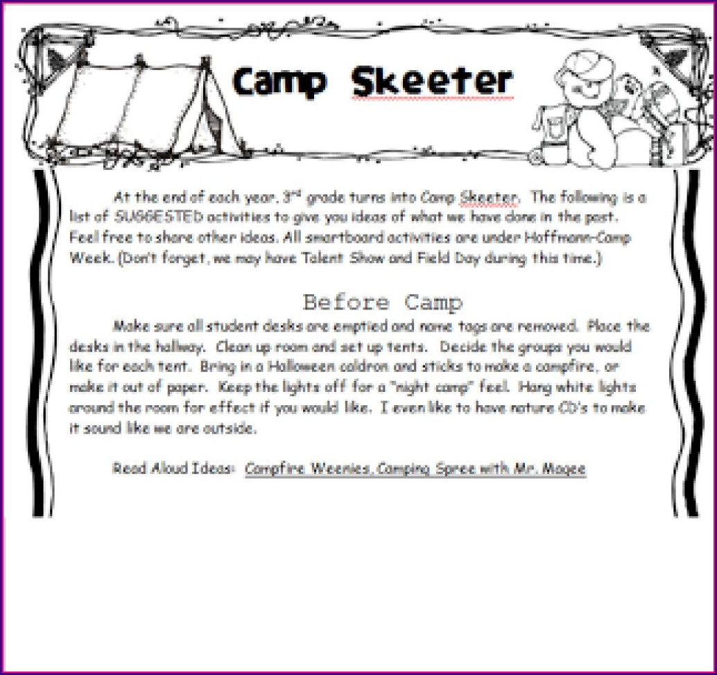 3rd Grade Teaching Theme Worksheets