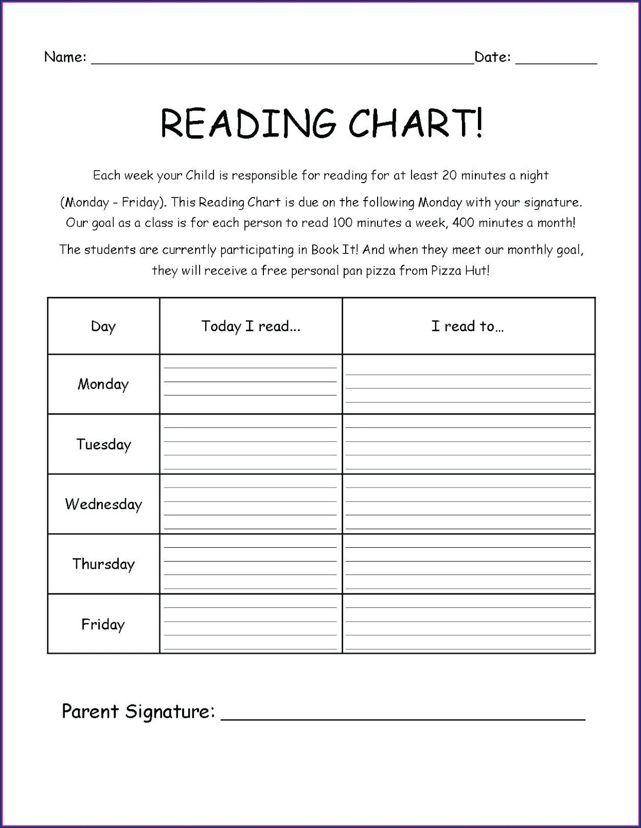 4th Grade Worksheets For Reading