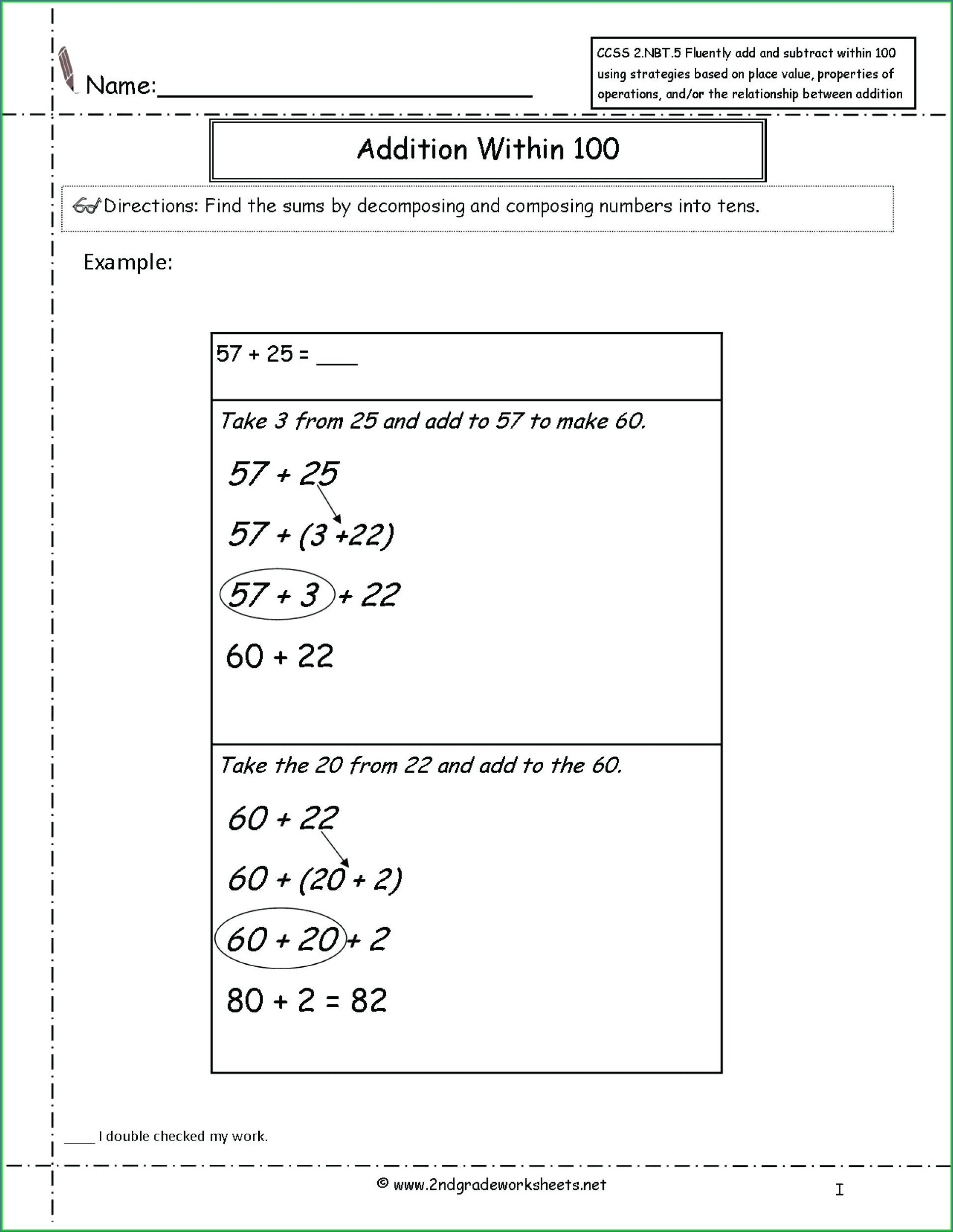 5th Grade Math Worksheets Geometry