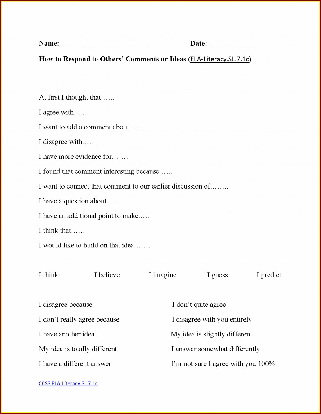 7th Grade English Grammar Worksheets For Grade 7 Pdf