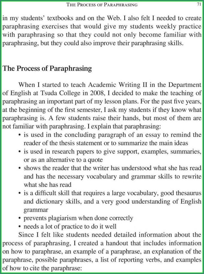 Academic Writing Worksheet Pdf