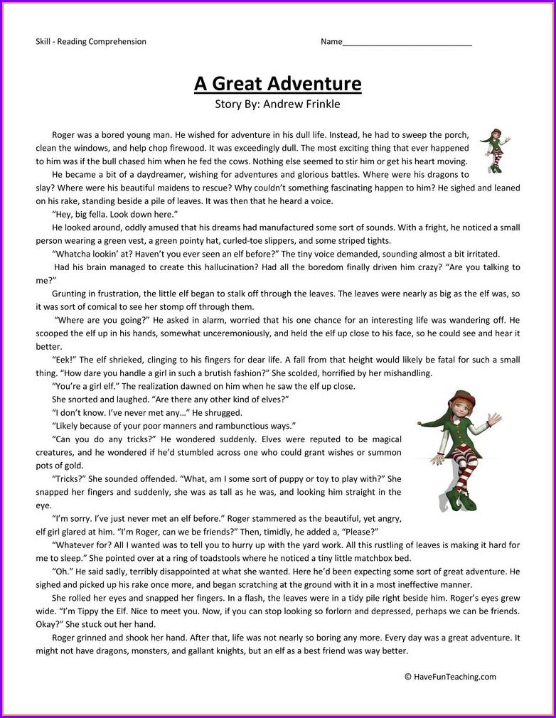 Adventures In Science Worksheet Answer Key