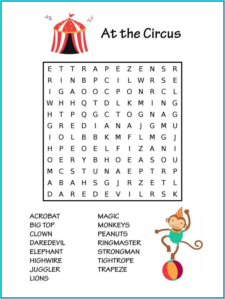 Baby Shower Games Printable Word Search