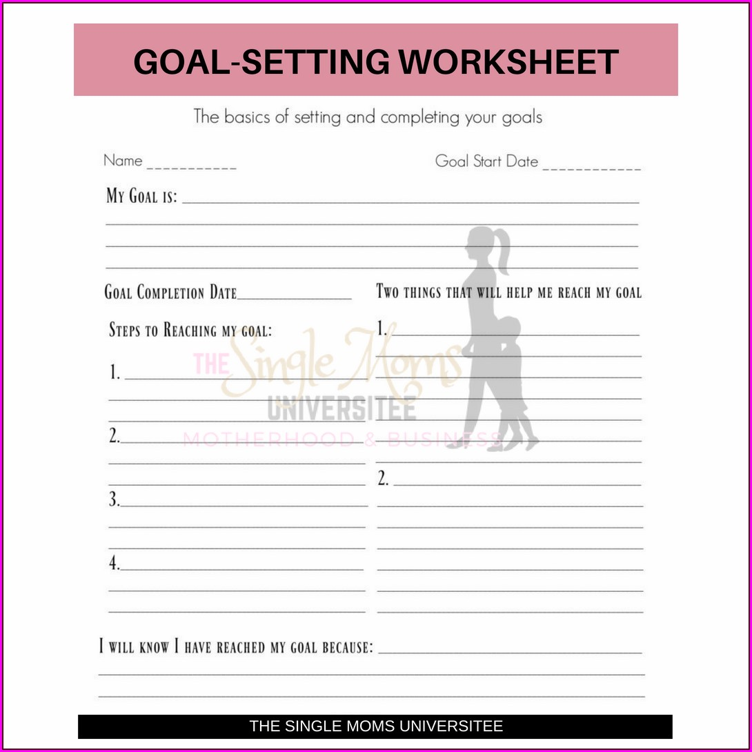 Basic Goal Setting Worksheet