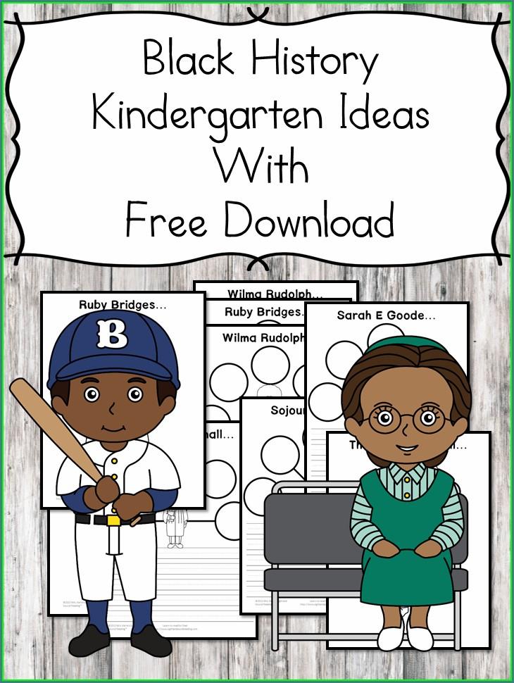 Black History Month Performance Ideas Kindergarten