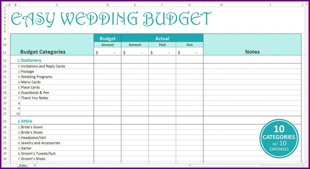 Budget Worksheet For Home Buying