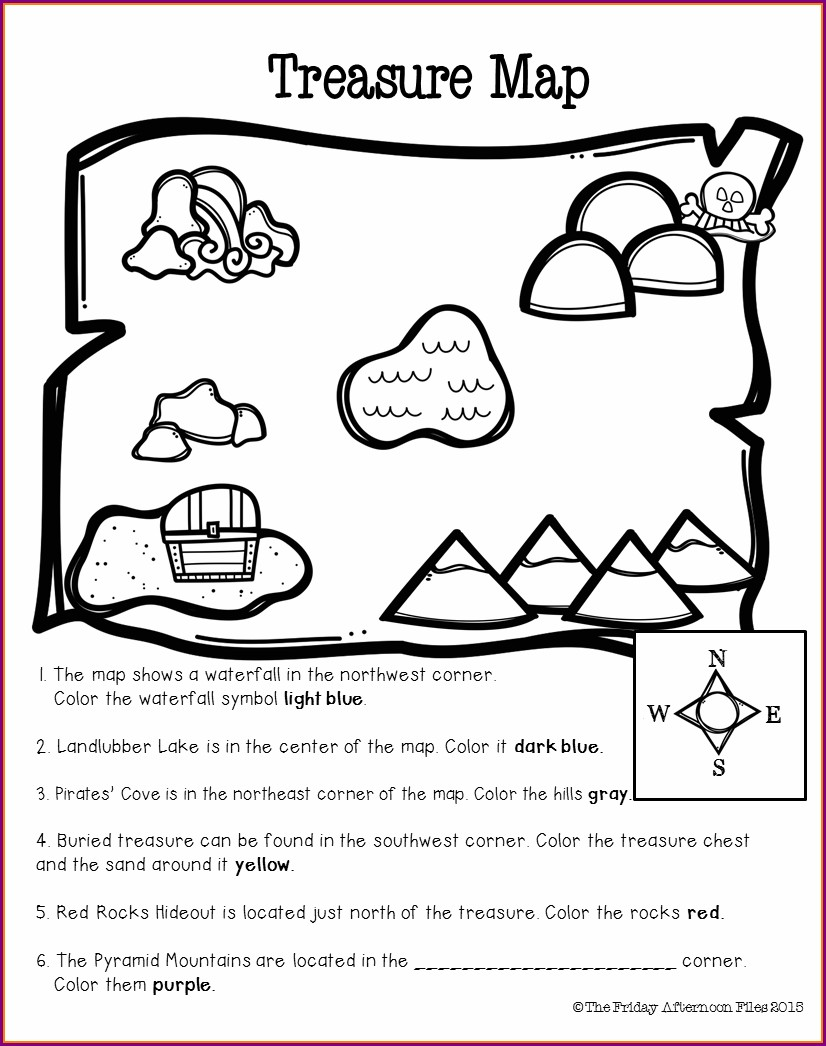 Cardinal Directions Lesson Plans For Kindergarten