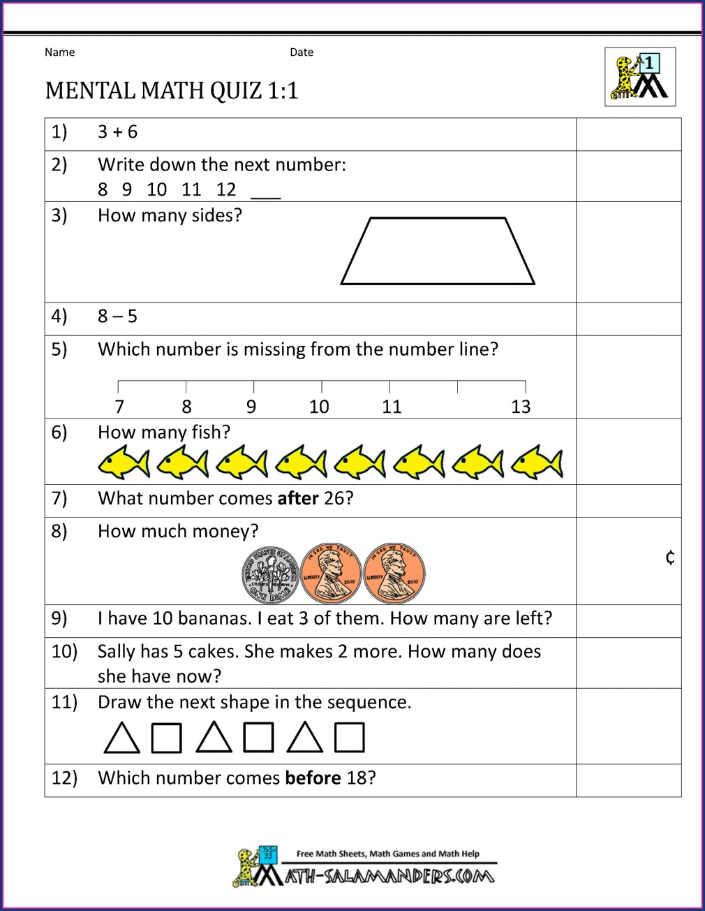 Cbse Grade 1 English Worksheets