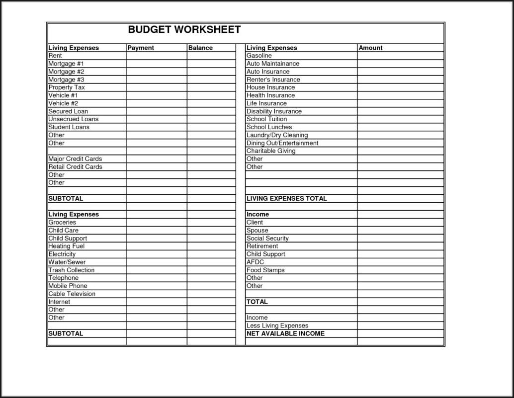 Child Support Worksheet Arkansas Worksheet Resume Examples
