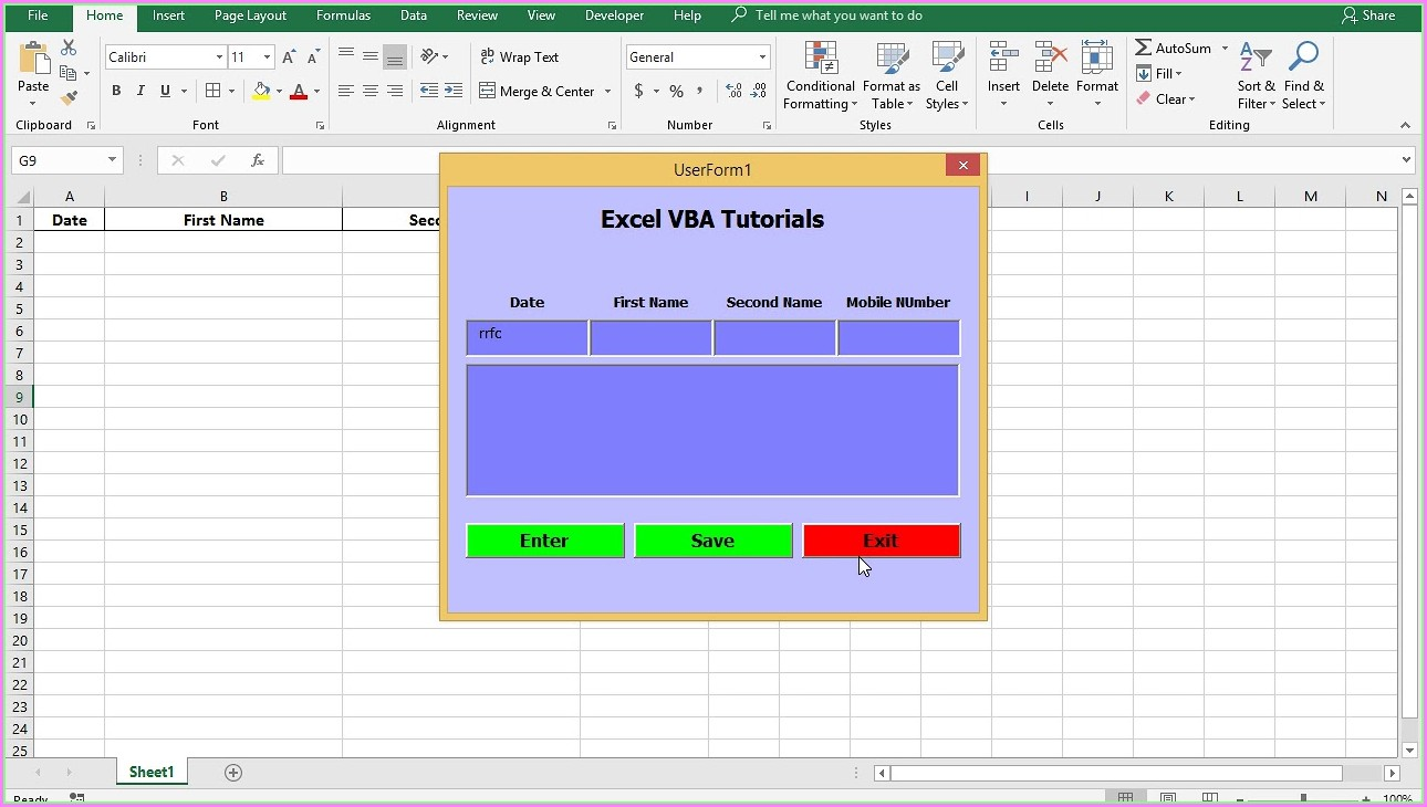 Clear Worksheet Data Vba