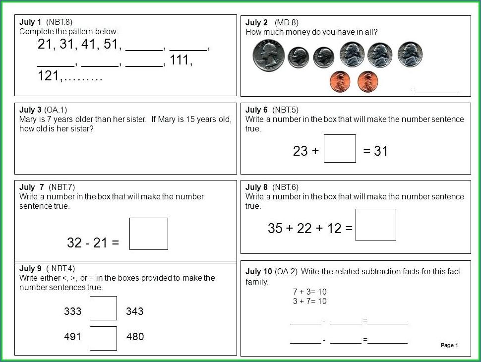 Complete Number Patterns Worksheet