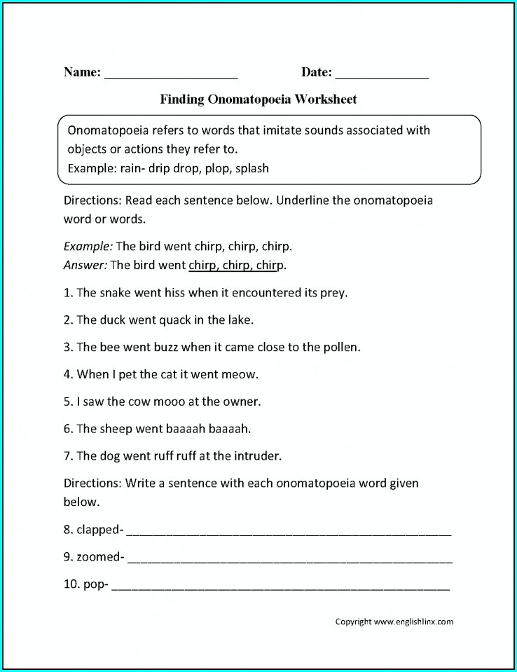 Comprehension Year 8 English Worksheets