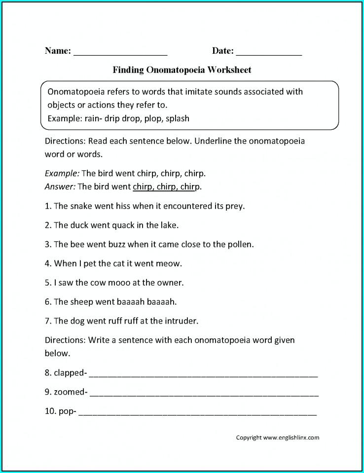 Comprehension Year 8 English Worksheets