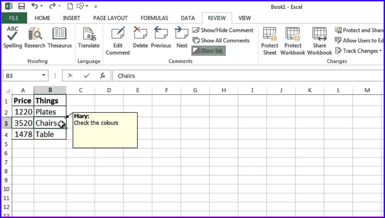 Copy Excel Worksheet With Comments