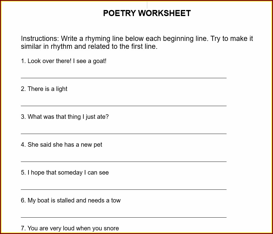 Descriptive Writing Worksheet Year 3