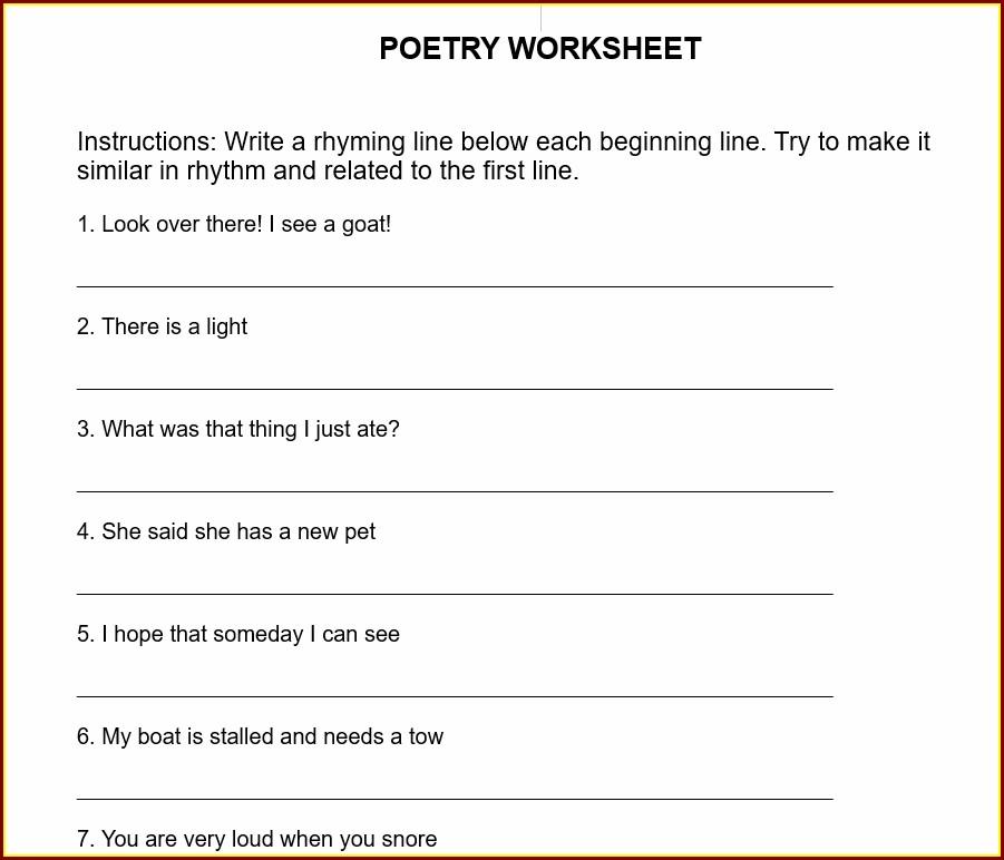 Descriptive Writing Worksheet Year 3