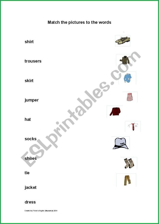 Design School Uniform Worksheet
